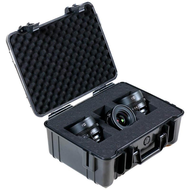 SLR Magic 3 Lens Set APO HyperPrime with EF mount