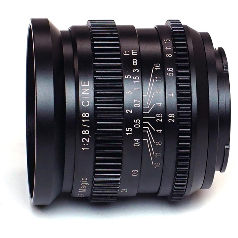 SLR Magic CINE 1828FE