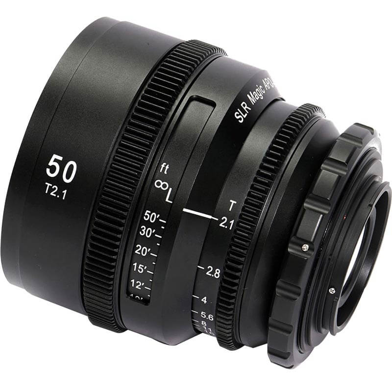 SLR Magic APO HyperPrime CINE 3-Lens Set with EF Adapters