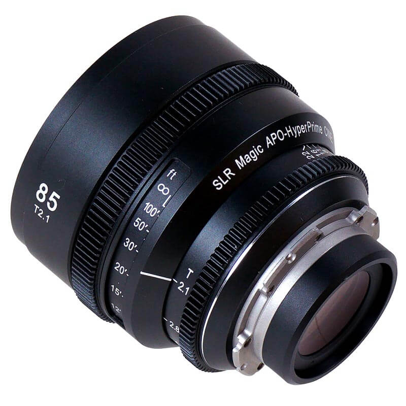 SLR Magic APO HyperPrime CINE APO85PL Lens with EF Adapter