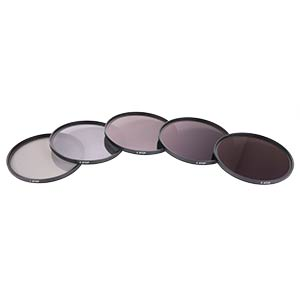 Fixed ND filters Set - 1-5 Stops