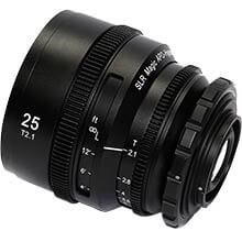 APO HyperPrime CINE APO25PL Lens with EF Adapter