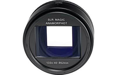 SLR Magic is proud to announce the SLR Magic Anamorphot 1,33x – 40 (Compact) adapter