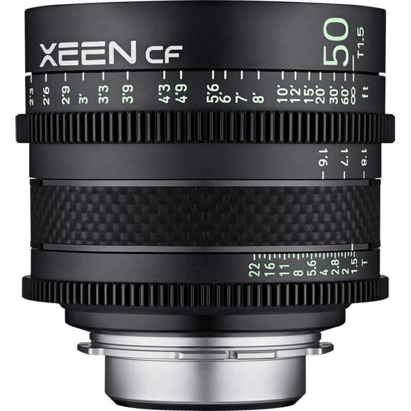 Samyang XEEN CF 50mm T1.5 EF