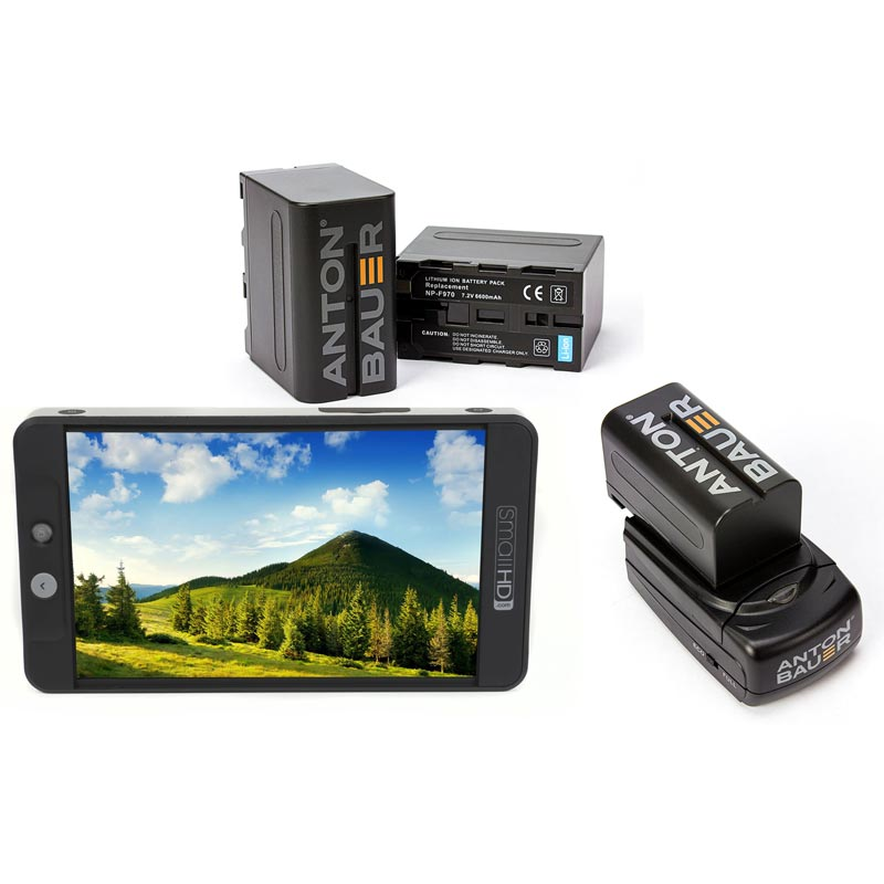 SmallHD 702 Bright and NPF Battery Kit