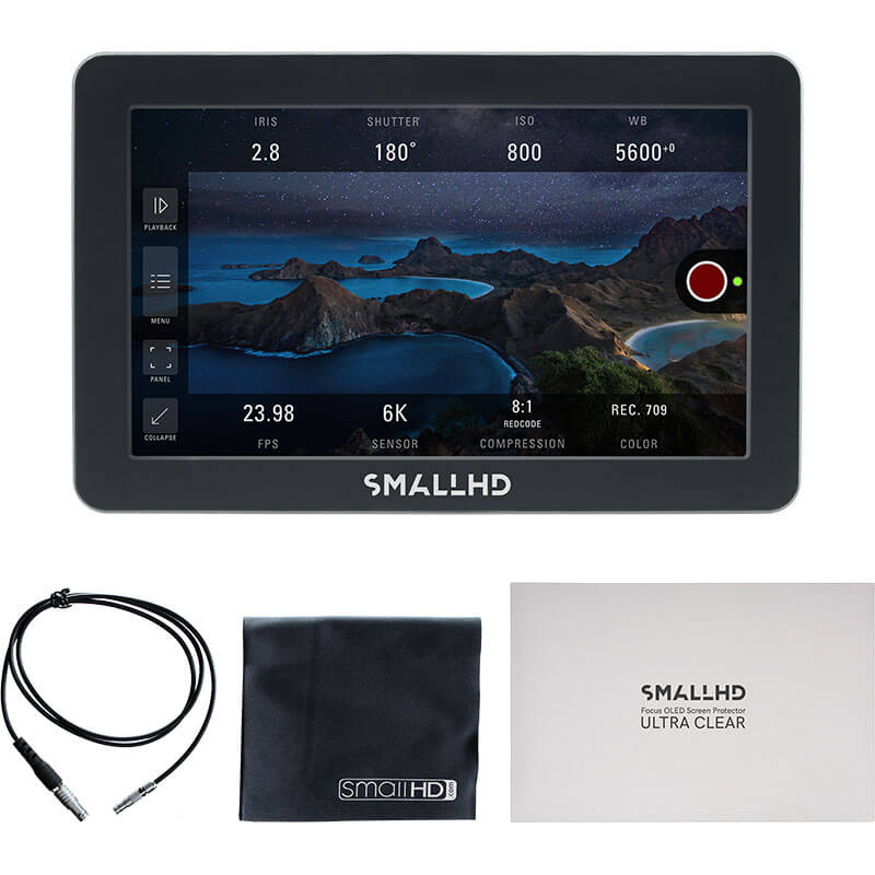 SmallHD Focus Pro OLED Kit for RED DSMC2