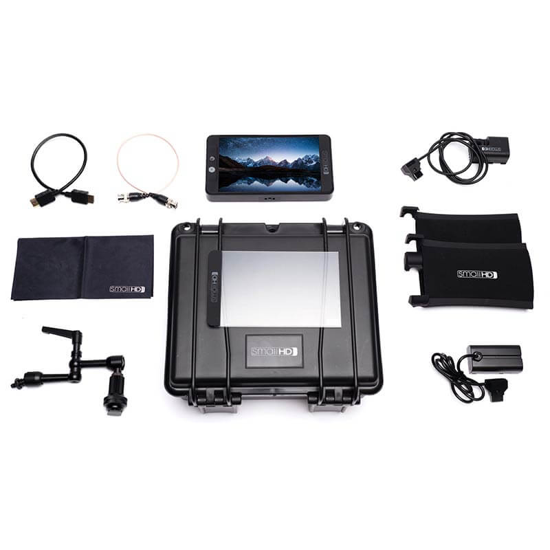 SmallHD 702 Black Monitor Kit