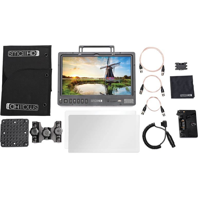 SmallHD 1303 HDR Production Monitor Kit - Gold Mount