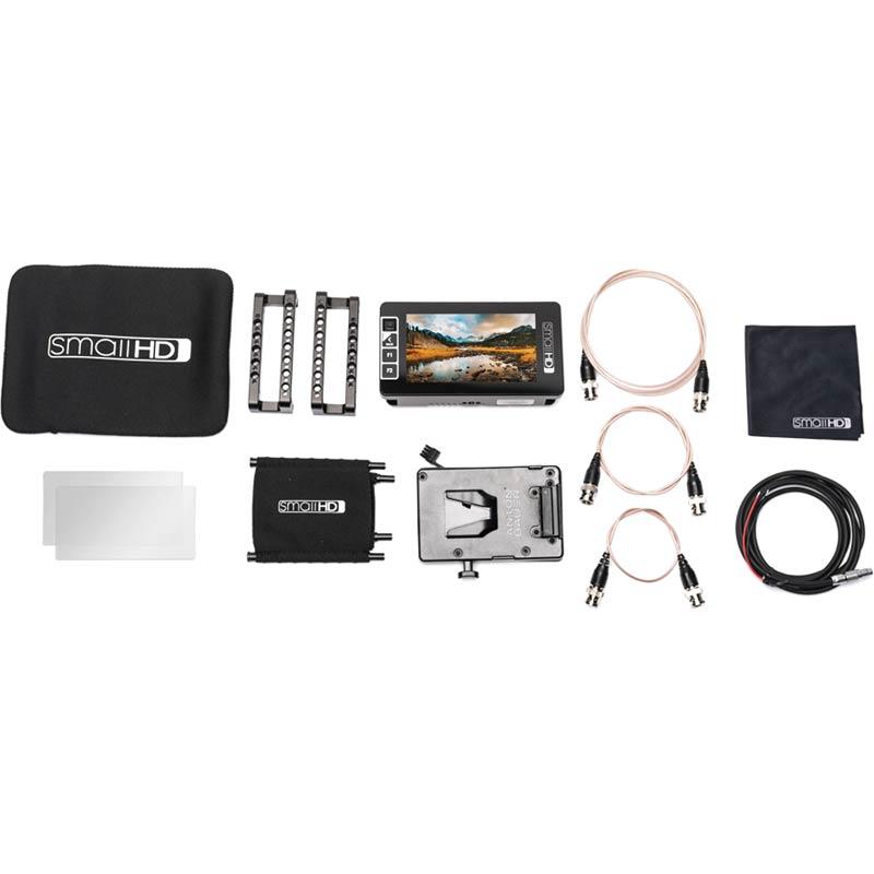 SmallHD 503 Ultra Bright Directors Kit - V Mount