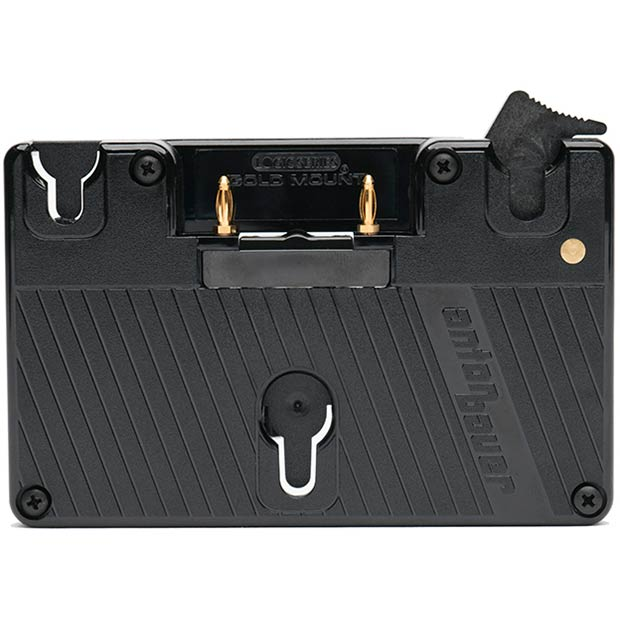 SmallHD Gold Mount Battery Plate for Ultra Bright Monitor
