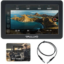 SmallHD Focus Pro RED KOMODO Kit