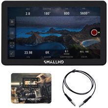 SmallHD Focus Pro OLED RED KOMODO Kit