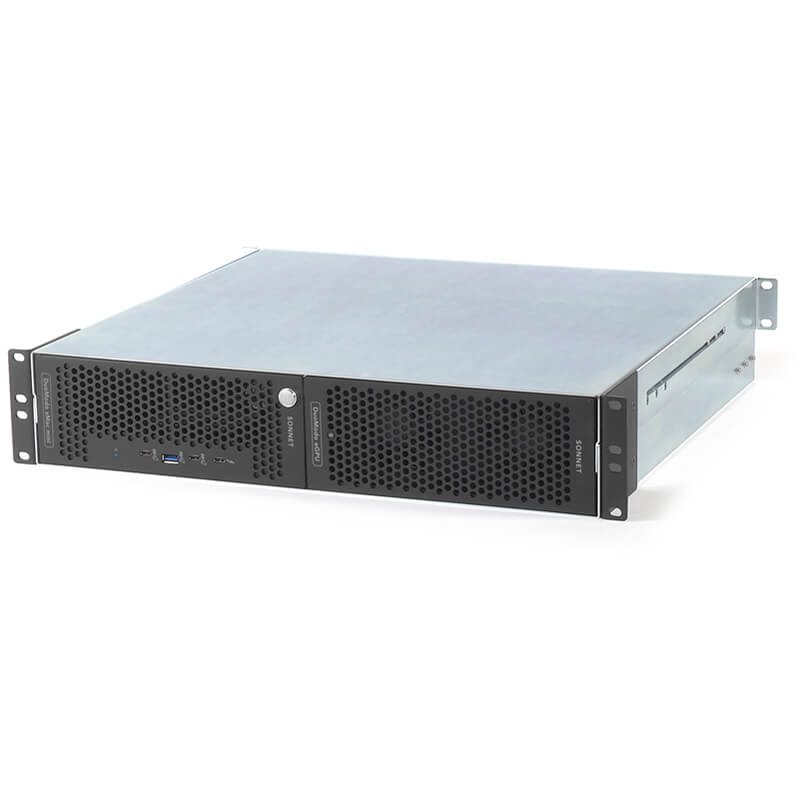 Sonnet DuoModo xMac mini/eGPU Rackmount System