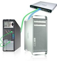 Sonnet Presto Gigabit PCIe Pro 1000/100/10BaseT Gigabit Ethernet  PCI Express card