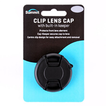 Summit 58mm Clip Lens Cap