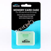 Summit SD/MicroSD Memory Card Case - Green