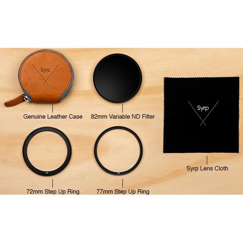 Syrp 82mm Super Dark Variable ND Filter