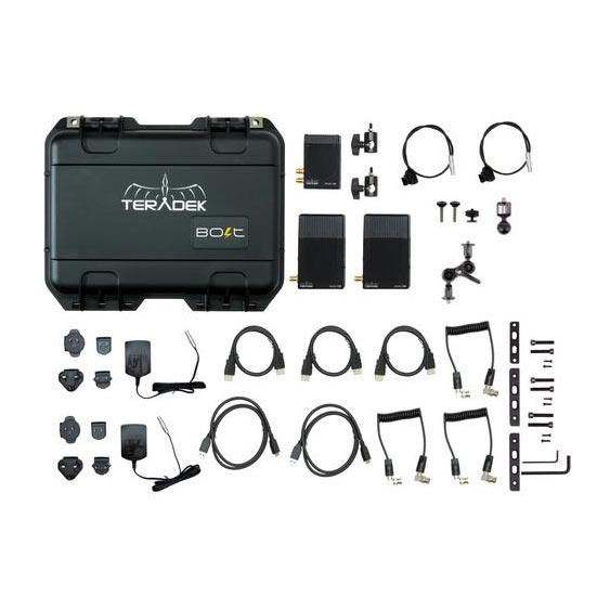Teradek Bolt 500 Deluxe Kit SDI | HDMI 2 x RX Wireless Video Transceiver Set