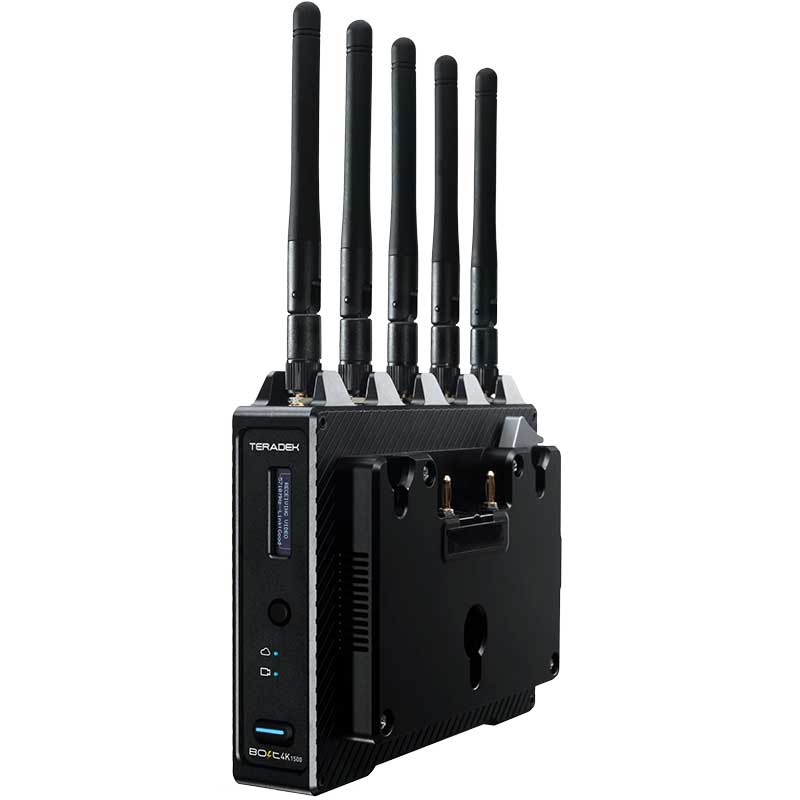 Teradek Bolt 4K 1500 Wireless Receiver Gold Mount