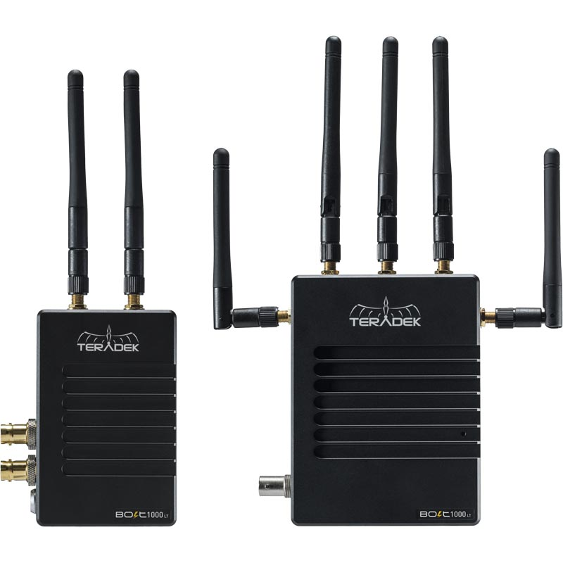 Teradek Bolt LT 1000 Deluxe Kit SDI / HDMI Gold Mount Wireless Video Transceiver Set