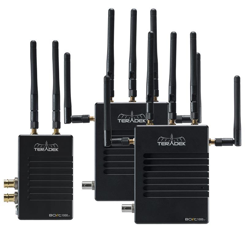 Teradek Bolt LT 1000 Deluxe Kit SDI / HDMI 2 x RX Gold Mount Wireless Video Transceiver Set