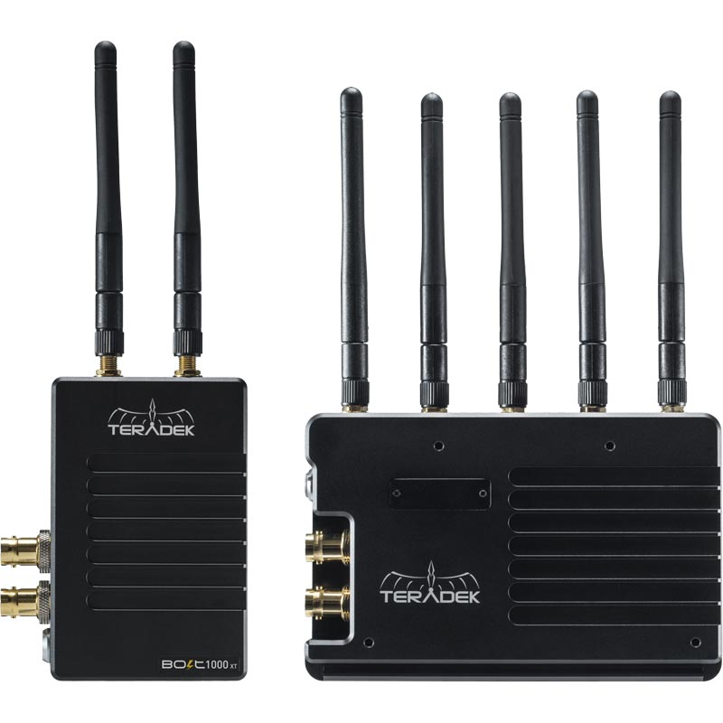 Teradek Bolt 1000 XT Deluxe Kit SDI / HDMI V-Mount Wireless Video Transceiver Set