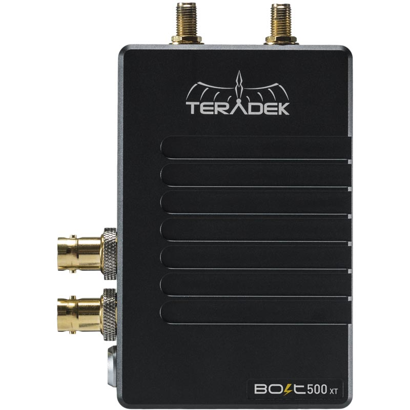 Teradek Bolt 500 XT Deluxe Kit 3G-SDI / HDMI 2 RX Gold Mount Video Transceiver Set