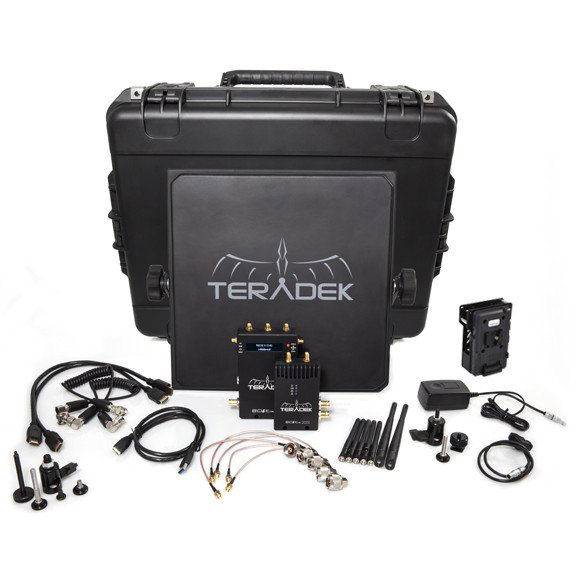 Teradek Bolt 1000 Deluxe Kit SDI | HDMI V Mount Wireless Video Transceiver Set