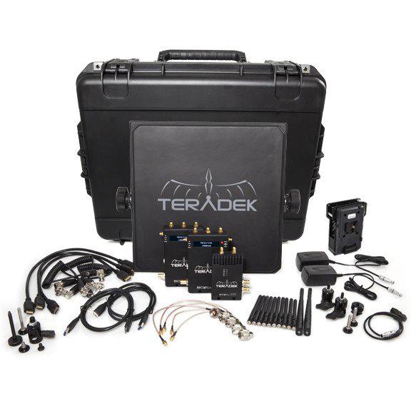 Teradek Bolt 1000 Deluxe Kit SDI | HDMI 2 x RX V Mount Wireless Video Transceiver Set