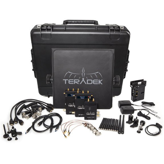 Teradek Bolt 3000 Deluxe Kit SDI | HDMI 2 x RX Gold Mount Wireless Video Transceiver Set