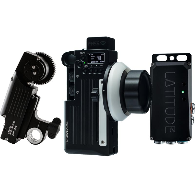 Teradek RT Latitude M Wireless Lens Control Kit with Forcezoom