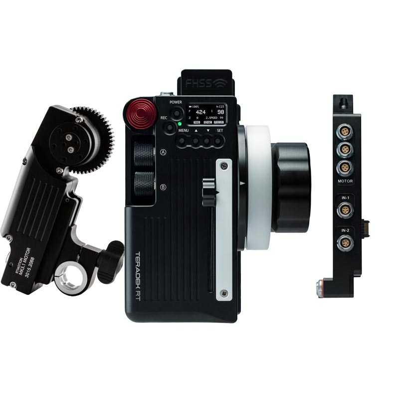 Teradek RT Latitude Sidekick Wireless Lens Control Kit with Forcezoom - RED