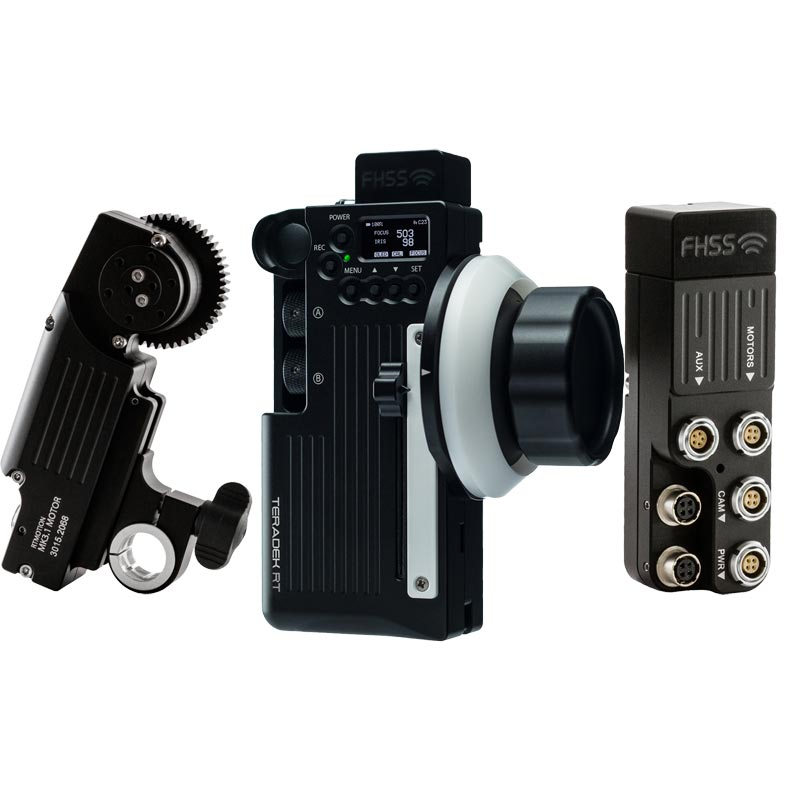 Teradek RT MK3.1 Wireless Lens Control Kit