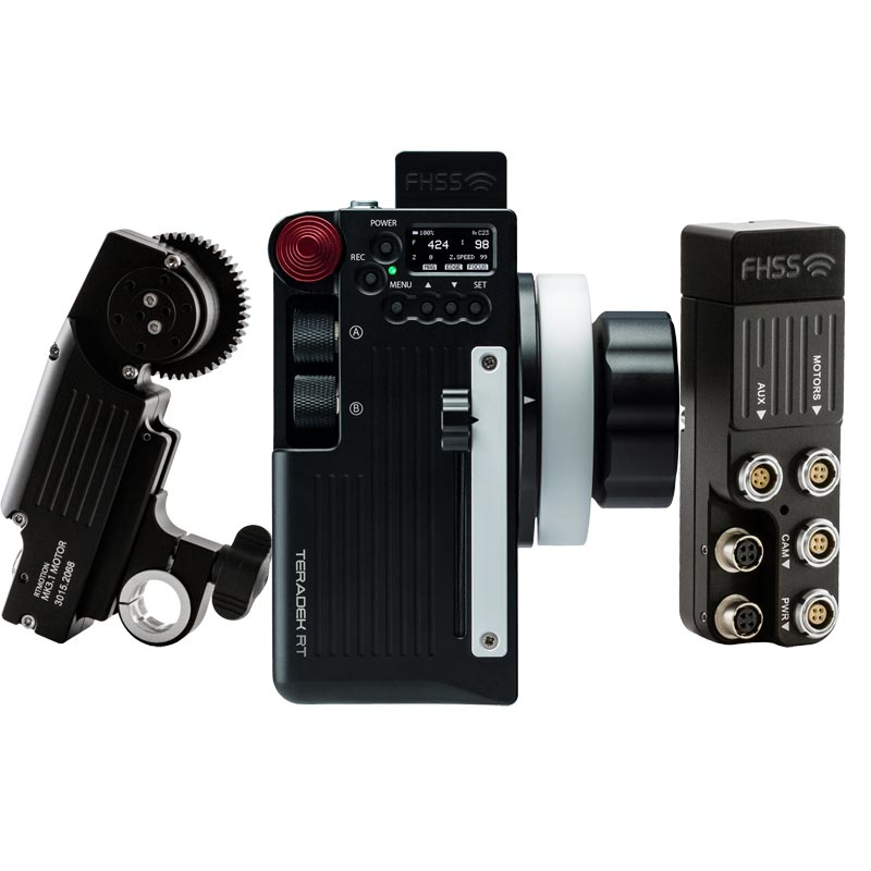 Teradek RT MK3.1 Wireless Lens Control Kit with Forcezoom