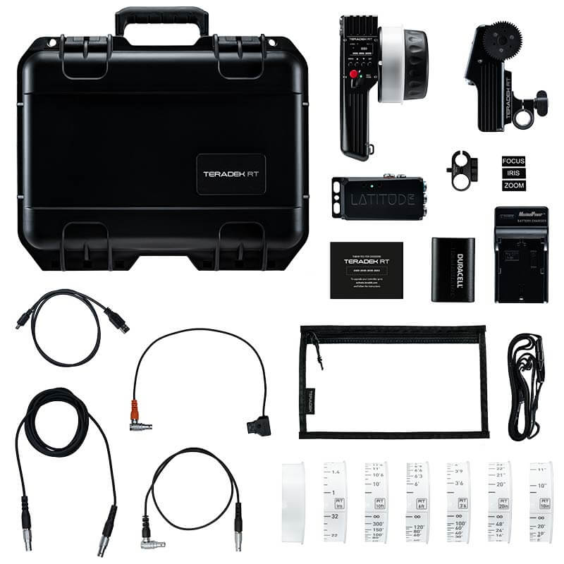 Teradek RT CTRL.1 Wireless Lens Control Kit with Lens Mapping - Imperial