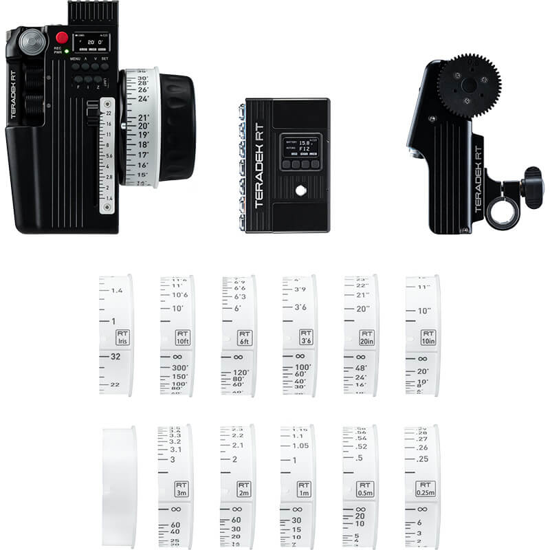 Teradek CTRL.3 Motor Wireless Lens Control Kit (1-Motor)