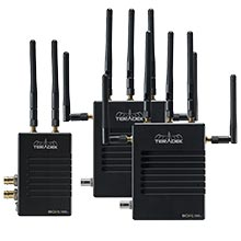 Teradek Bolt LT 1000 Deluxe Kit SDI / HDMI 2 x RX Gold Mount Wireless Video Transceiver Set