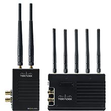 Teradek Bolt 3000 XT Deluxe Kit 3G-SDI / HDMI 2 RX Gold Mount Video Transceiver Set