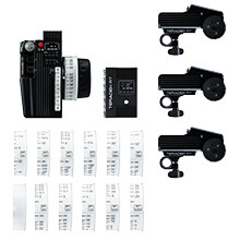 Teradek CTRL.3 Motor Wireless Lens Control Deluxe Kit (3-Motors)