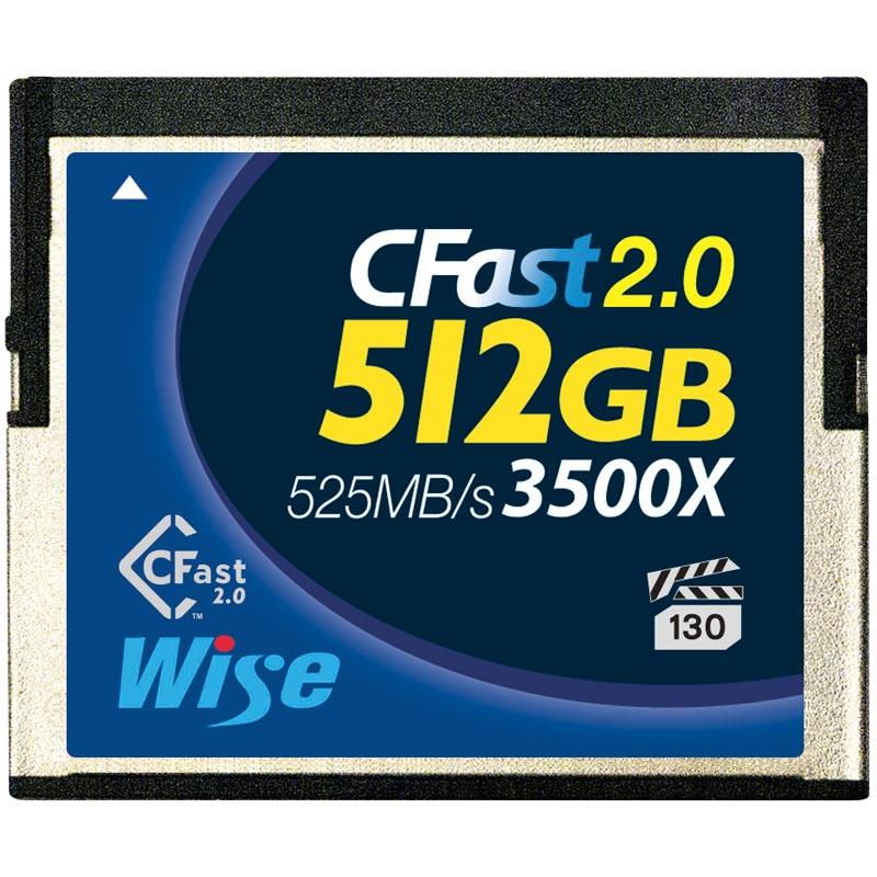 Wise Advanced CFA-5120 512Gb Cfast Card