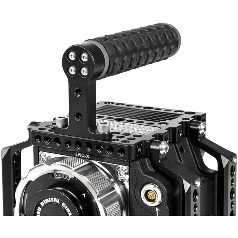 Wooden Camera Top Handle (Rubber)