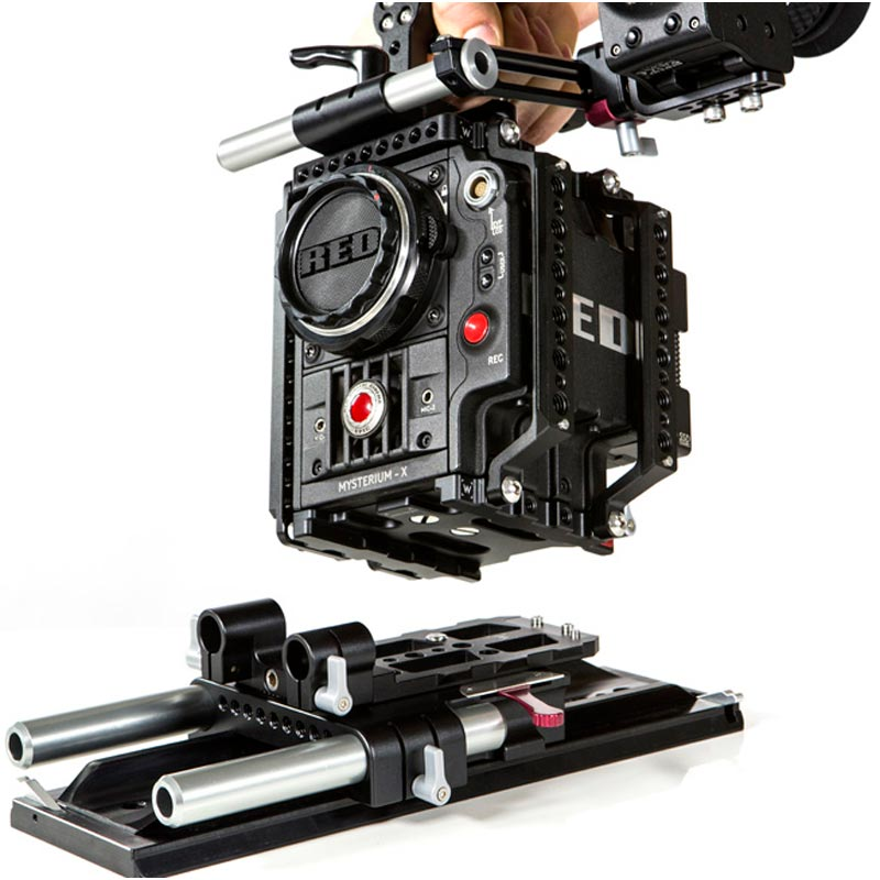 Wooden Camera Quick Riser (Epic | Scarlet)