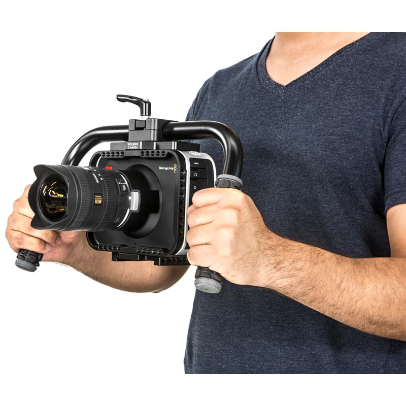Wooden Camera Handlebar (Rubber)