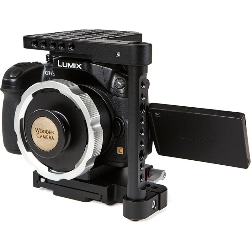 Wooden Camera MFT to PL Adapter (GH3 | GH4)