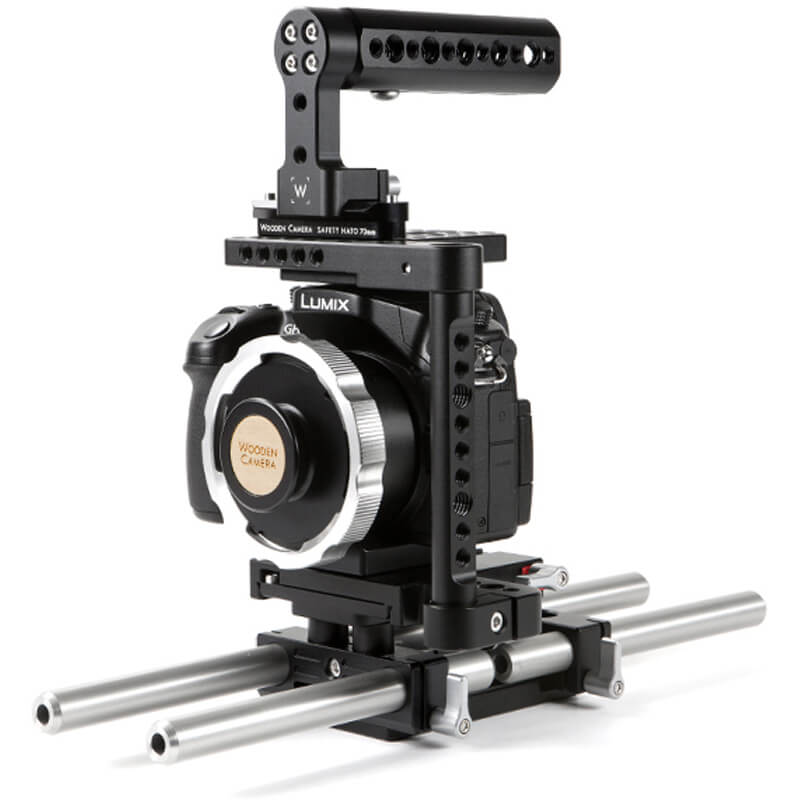 Wooden Camera DSLR Dual 15mm Base