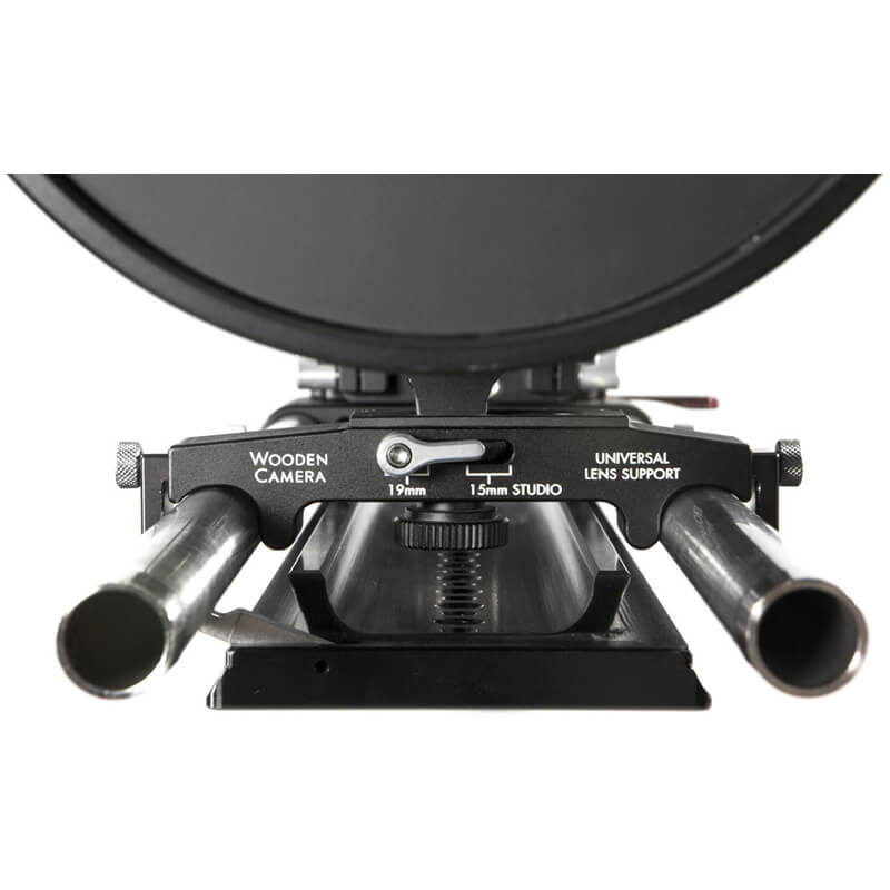 Wooden Camera Universal Lens Support (19mm | 15mm Studio)