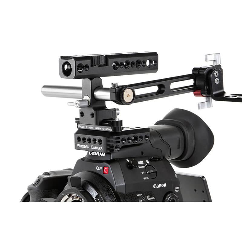 Wooden Camera Nato Handle Kit Plus 70mm Holdan Limited