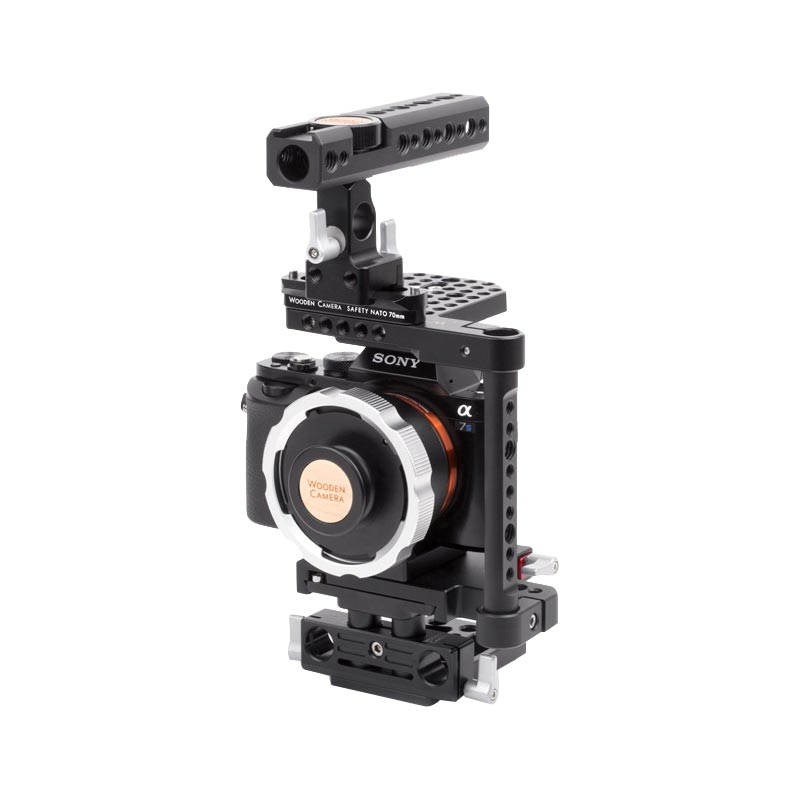 Wooden Camera E-Mount to PL Mount Pro (A7s)