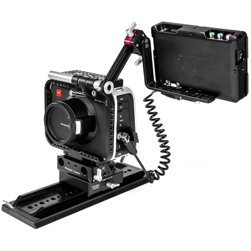 Wooden Camera UVF LCD Sled