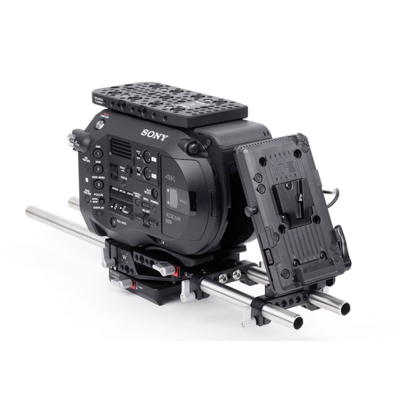 Wooden Camera WC V-Mount (Sony FS7, FS5, Panasonic EVA-1)